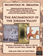 Moawiyah M. Ibrahim: The Archaeology of the Jordan Valley