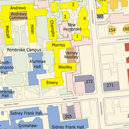 Goddard Campus Map.Brown Maps V7